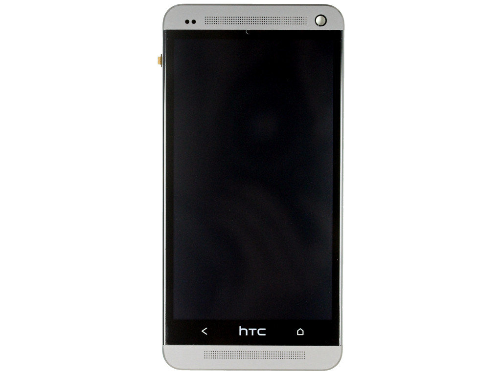 HTC One Display Einheit silver