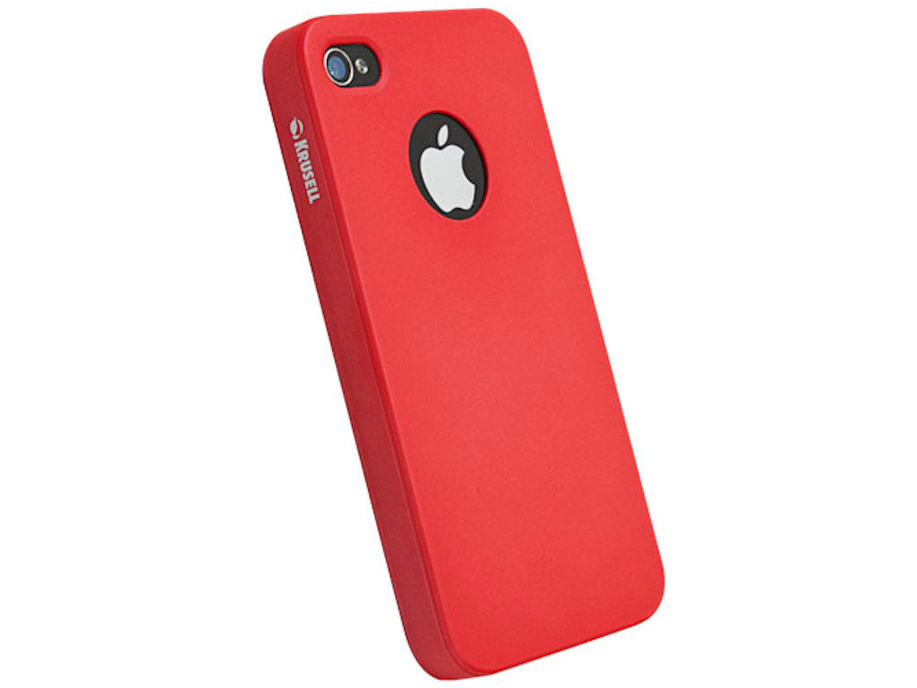 Krusell Color Cover iPhone 4/ 4S rot (89607)