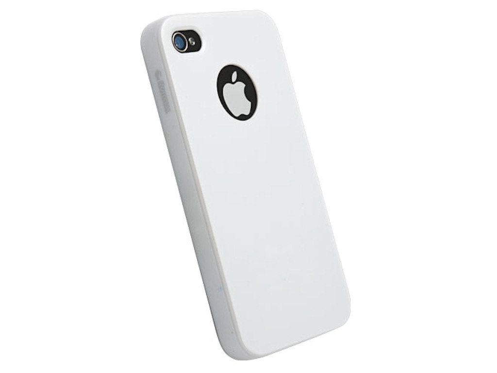 Krusell Color Cover iPhone 4/ 4S weiß (89605)