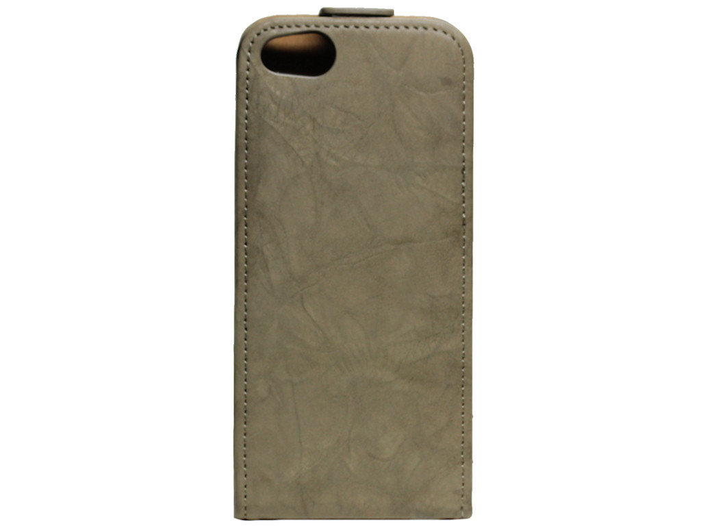 Flipcase Vintage Tasche Apple iPhone 5 creme