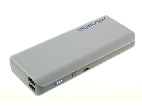 digibuddy Power Bank 11000 mAh 2x USB Anschluß