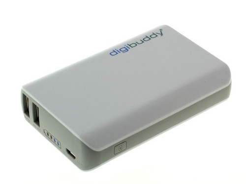 digibuddy Power Bank 6600 mAh 2x USB Anschluß