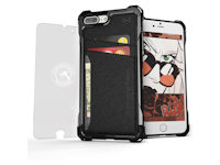 Ghostek Exec Wallet Case Apple iPhone 7 Plus 8 Plus schwarz