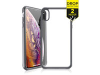 ITSKINS Level 2 HybridFrost for Apple iPhone X/Xs Transparent schwarz
