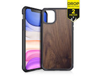 ITSKINS Level 2 HybridFusion for Apple iPhone 11 Dark Wood