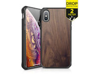 ITSKINS Level 2 HybridFusion for Apple iPhone X/Xs Dark Wood