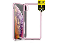 ITSKINS Level 2 HybridSolid for Apple iPhone X/Xs Pink/Transparent