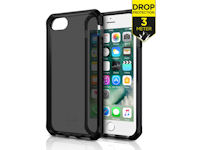 ITSKINS Level 3 SupremeClear for Apple iPhone 6/6S/7/8 schwarz
