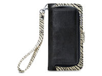 Mobilize 2in1 Gelly Wallet Zipper Case Apple iPhone 6 6S 7 8 Plus Black Zebra