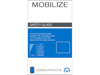 Mobilize Fullscreen Safety tempered Glass Schutzfolie Apple iPhone 6 6S 7 8 Plus weiß