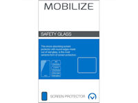 Mobilize Fullscreen Safety tempered Glass Schutzfolie Apple iPhone SE 2020  schwarz