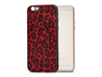 Mobilize Gelly Case Apple iPhone 6/6S Plus Red Leopard