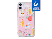 My Style Magneta Case for Apple iPhone 11 Pink Alpaca