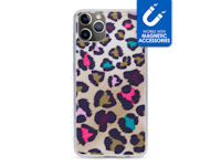 My Style Magneta Case for Apple iPhone 11 Pro Max Colorful Leopard