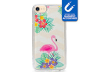 My Style Magneta Case for Apple iPhone 6/6S/7/8 Flamingo