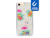 My Style Magneta Case for Apple iPhone 6/6S/7/8 Plus Flamingo
