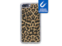 My Style Magneta Case for Apple iPhone 6/6S/7/8 Plus Leopard