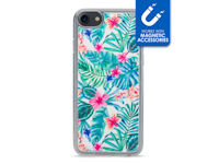 My Style Magneta Case for Apple iPhone 6/6S/7/8 White Jungle