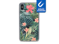 My Style Magneta Case for Apple iPhone Xs Max Black Jungle