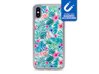 My Style Magneta Case for Apple iPhone Xs Max White Jungle