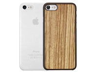 Ozaki O!Coat 0.3 Jelly und Wood Case Apple iPhone 7 / 8  zebrano und transparent OC721ZC