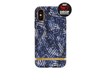 Richmond & Finch Freedom Series Apple iPhone XR Blue Denim/Gold