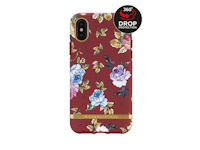 Richmond & Finch Freedom Series Apple iPhone X/Xs Red Floral/Gold