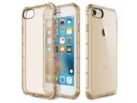 Rock Fence TPU Case Apple iPhone 7 / 8  Transparent gold