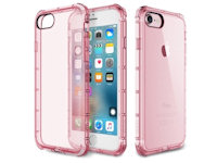 Rock Fence TPU Case Apple iPhone 7 / 8  Transparent pink