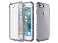 Rock Fence TPU Case Apple iPhone 7 / 8  Transparent schwarz