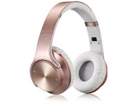 Sodo On-Ear Bluetooth Headset Kopfhörer pink