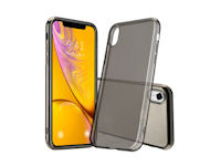 nevox StyleShell Flex iPhone Xr schwarz transparent
