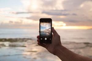Smartphone Fotografie Landschaft