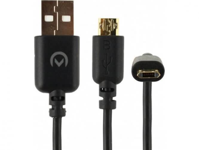 Reversible Micro USB Kabel