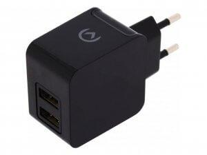 Mobilize Ladegerät mit USB Anschluss schwarz 3,1 A DUAL USB