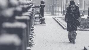 Smartphone Achtung im Winter