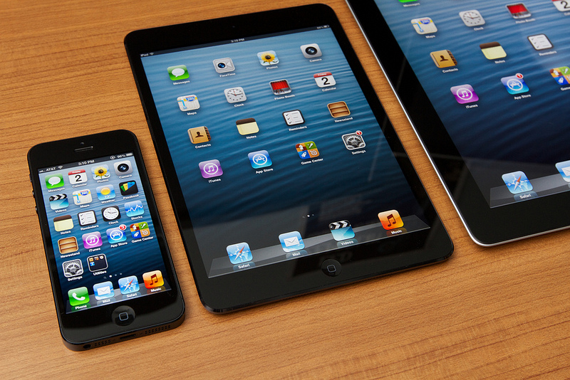 iPhone 5 iPad mini iPad 4 black