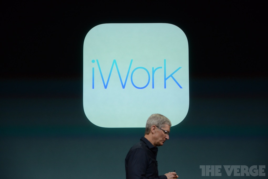 iWork / Quelle: theverge.com