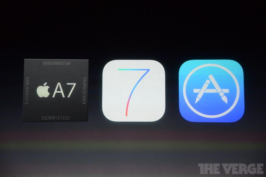 iOS7 mit 64-bit Architektur / Quelle: theverge.com