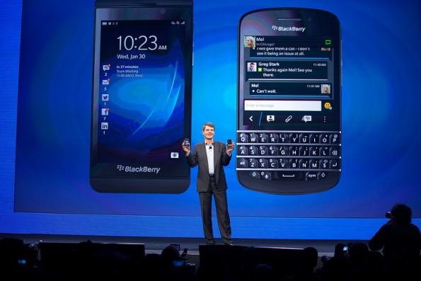 Blackberry Entlassung: Blackberry Q10 und Z10 kamen bei den Kunden nicht so an, wie erwartet. / Quelle: t3n.de