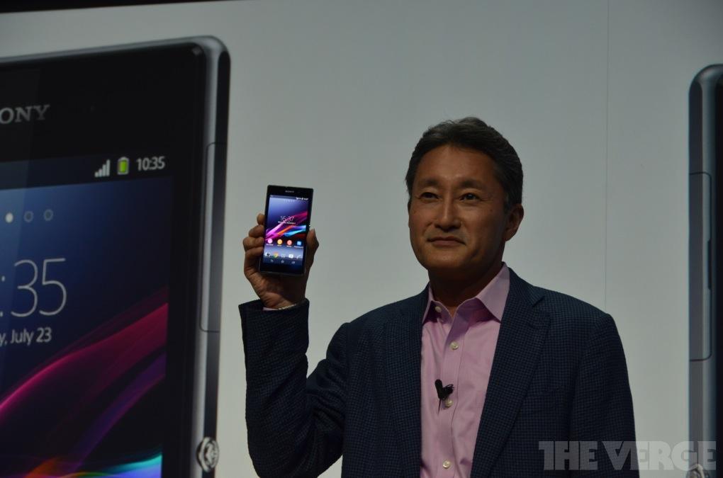 Sony Xperia Z1 / Quelle: theverge.com