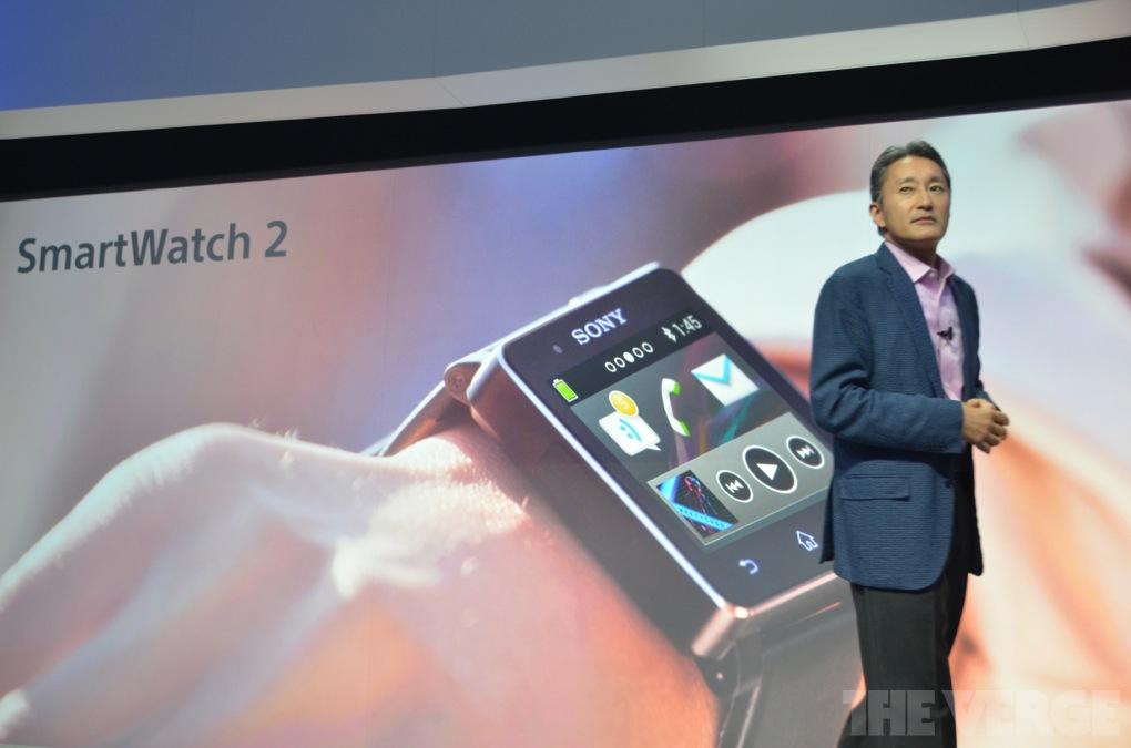 Sony Smartwatch 2 / Quelle: theverge.com