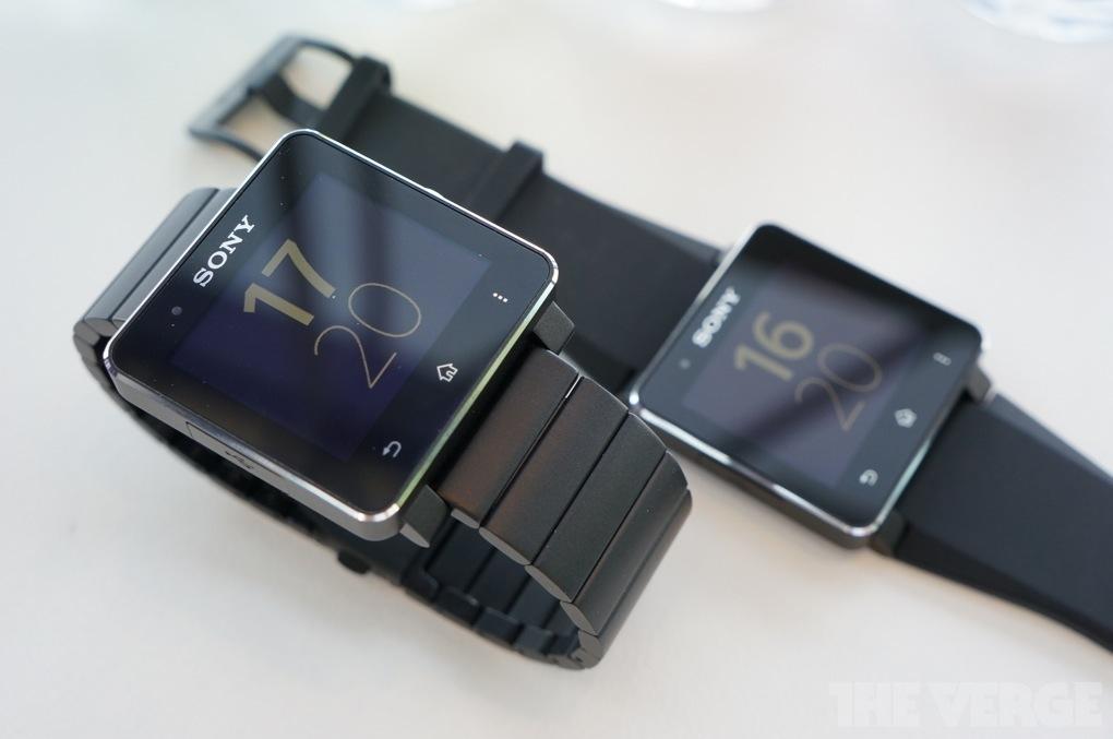 Sony Smartwatch 2 in schwarz / Quelle: theverge.com